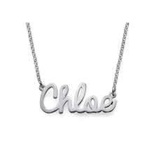 Customized Jewelry | Monograms | Name Plates | Name Rings