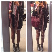 scarf,scarve,burgundy