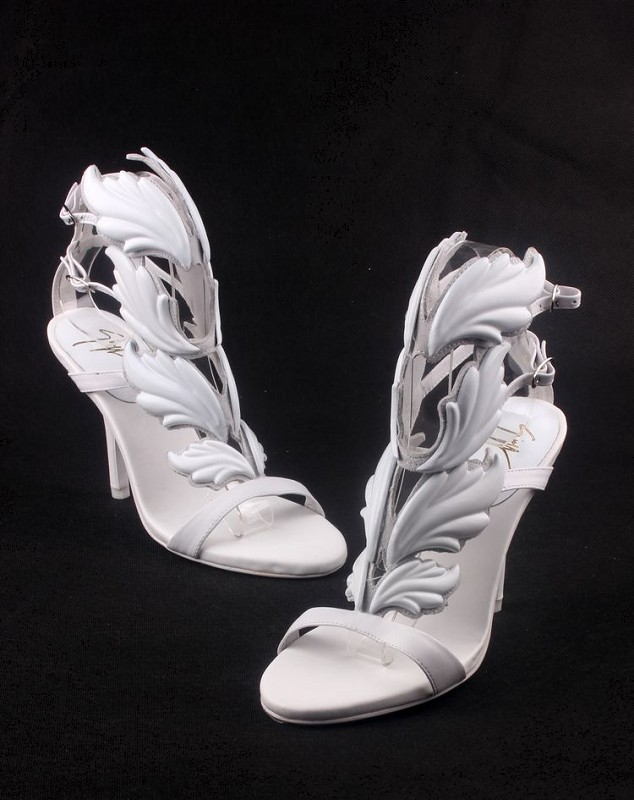 Stylish Ladies Angel Wing Heels Open Toe Sandals Shoes 5 | eBay