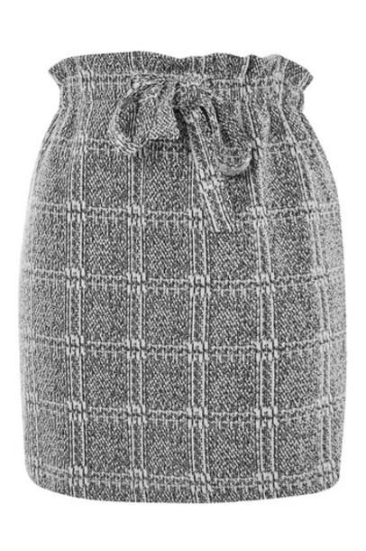 Topshop skirt mini skirt mini grey