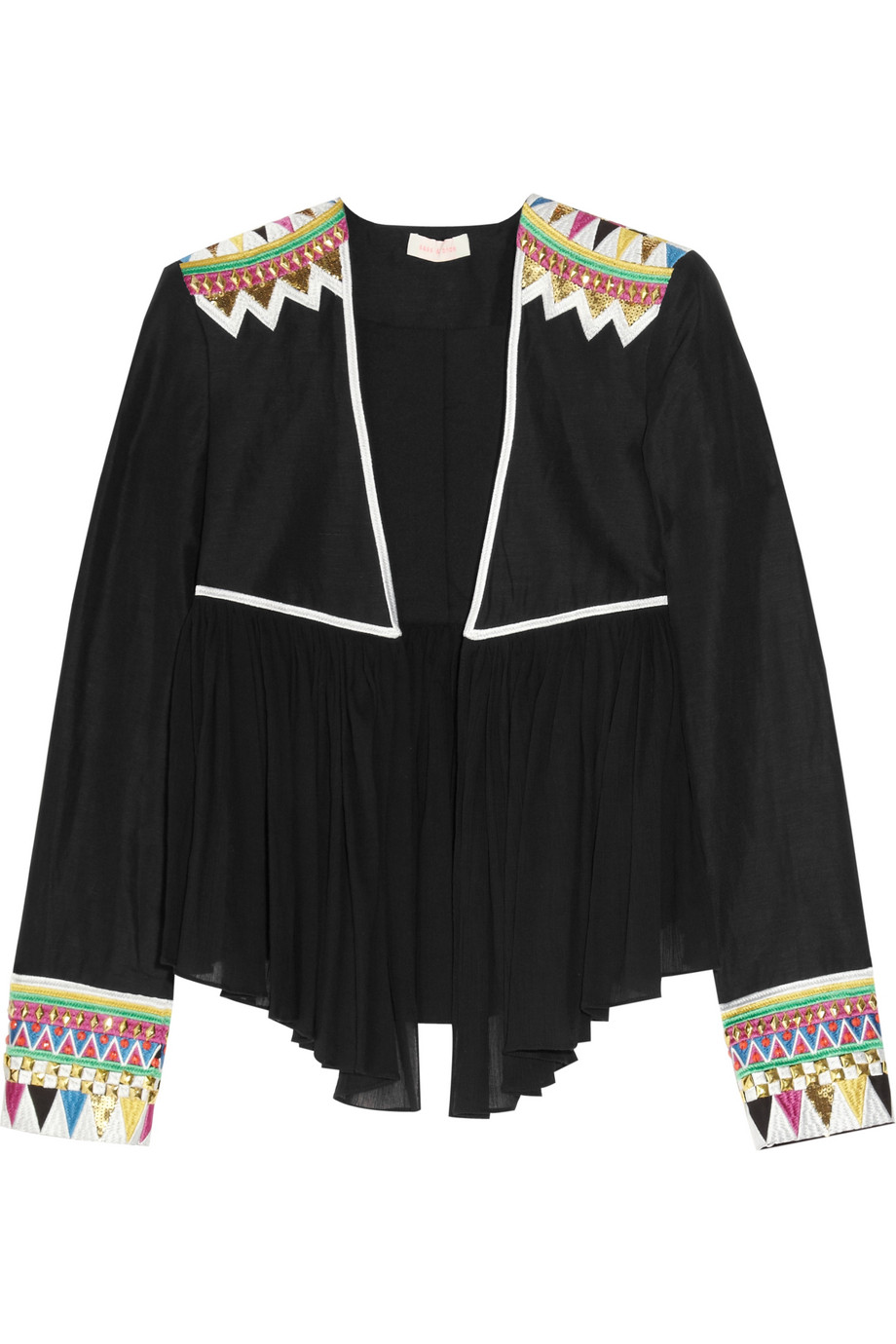 Sass & bide My Favourite Game embroidered silk-blend jacket - 54% Off Now at THE OUTNET