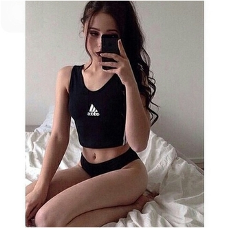 top sportswear sports athletic athleticwear grunge pale pale grunge alternative dress tumblr outfit tumblr top tumblr girl curvier curves curvy body goals style stylish trendy on point clothing outfit idea fashion inspo blogger