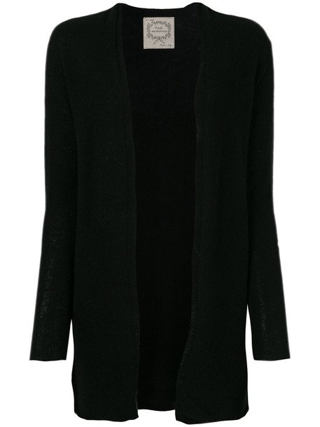 PINK MEMORIES cardigan cardigan long women black sweater