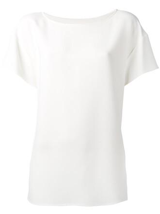 top women spandex white