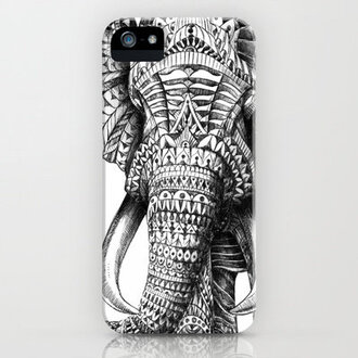 phone cover boho elephant elephant print phone case