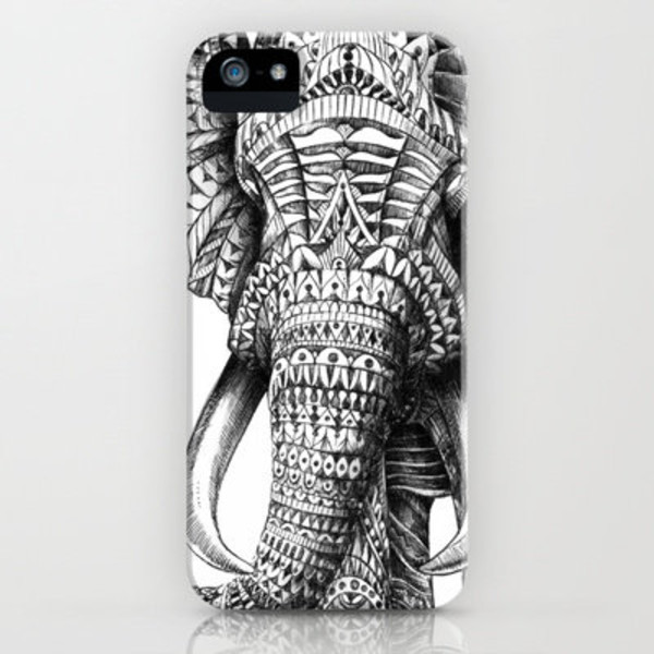 phone cover boho elephant elephant print phone cover sunglasses