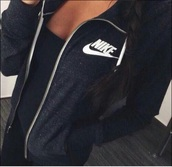 nike jacket,black jacket,jacket,nike,coat,black nike,black,black nike jacket,nike sportswear,sweater,dark,nike sweater,navy,charcoal,hoodie,jumper,nikejackett,grey,white,nike zipper jacket,and gray nike zip up,grey sweater,white sweater,black nike sweater,sports jacket
