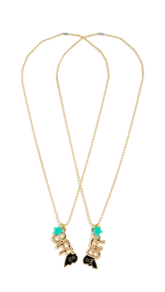 Gift Boutique Gunner & Lux BFF Necklace in gold