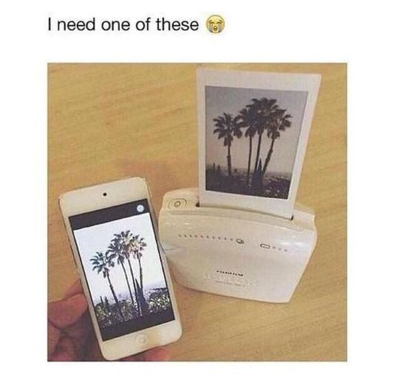 phone case printer polaroid camera phone vintage