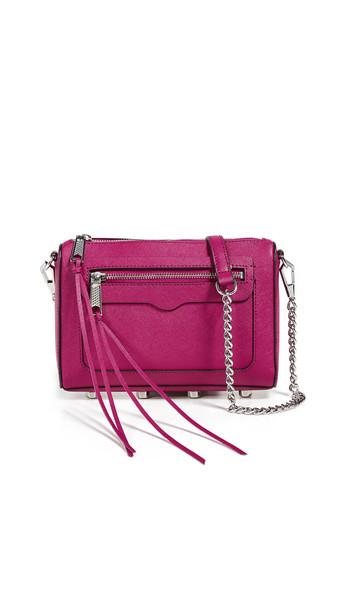 Rebecca Minkoff Avery Crossbody Bag in magenta