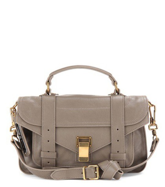 Proenza Schouler leather grey bag