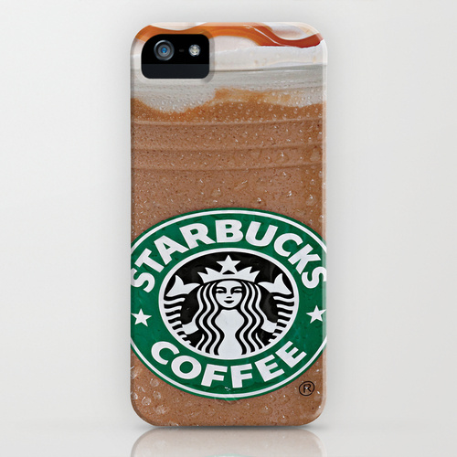 Starbucks Frappuccino iPhone & iPod Case by Chase Keeling | Society6