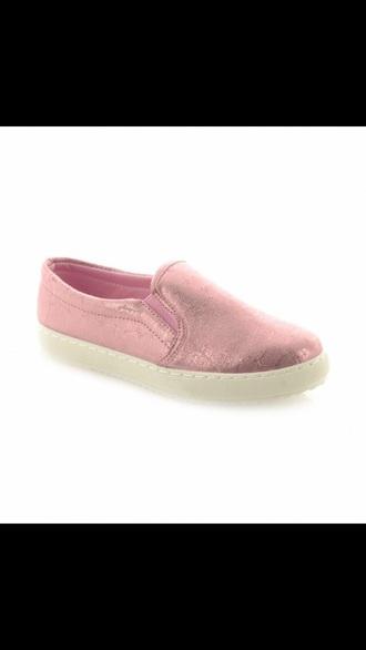 shoes pink vans sneakers