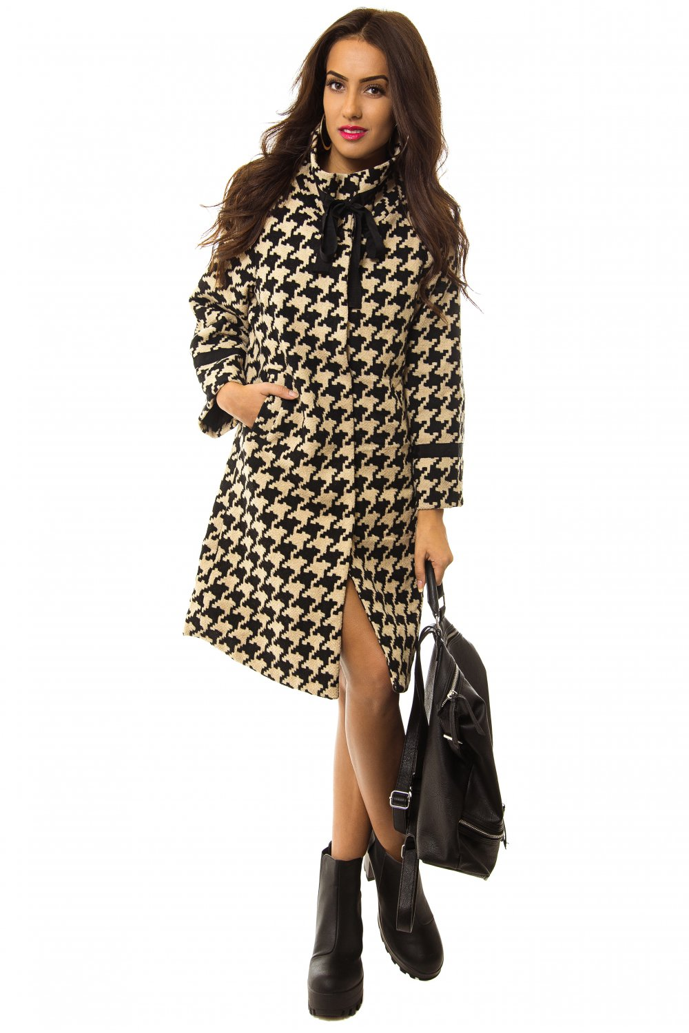 Sienna Limited Edition Dogtooth Coat - from The Fashion Bible UK