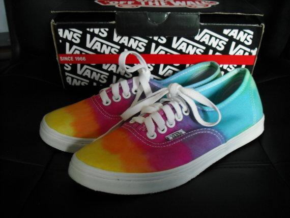 785c71a0a26 The Original Tie dye custom Vans shoes ready to ship SALE FREE ten ...