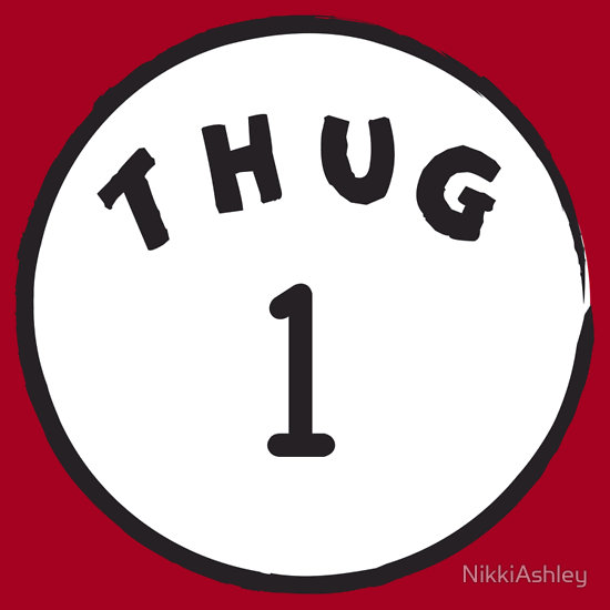 """Thug 1"" T-Shirts & Hoodies by NikkiAshley 