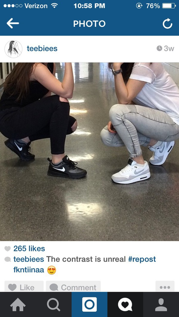 Nike Air Max Tavas Black Women