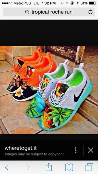 shoes tropical roche run