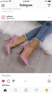 shoes,public desire,pink