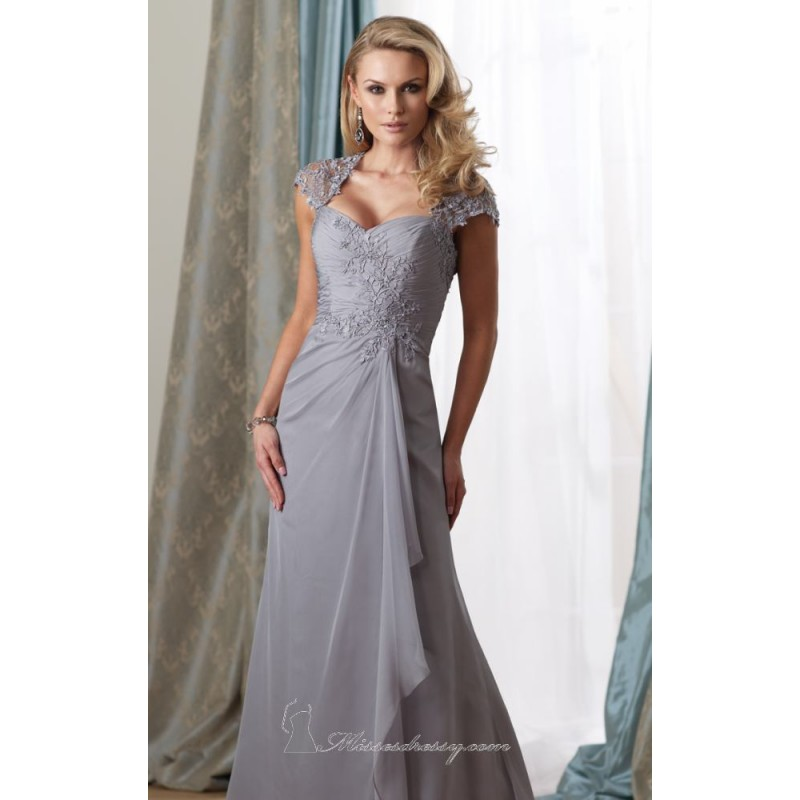 Lace Dress by Mon Cheri Montage 212958 - Bonny Evening Dresses Online