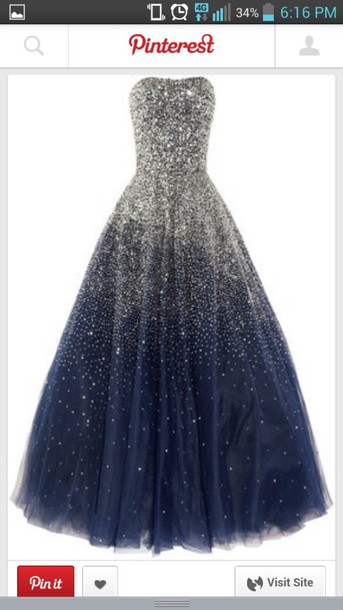 dress sparkly dress blue dress silver silver sequin dress prom dress prom gown