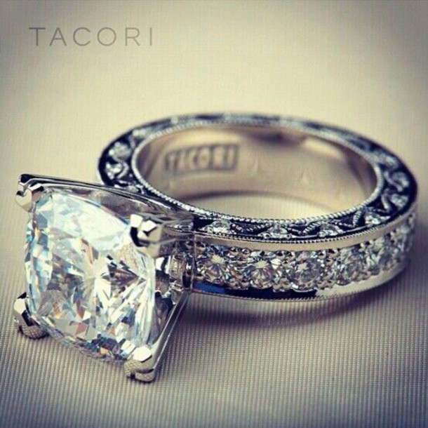 Jewels Tacori Rings Beauty Ring Shoes Ring Ring Wedding Ring Diamonds Diamond  Ring Diamond Rings Jewelry