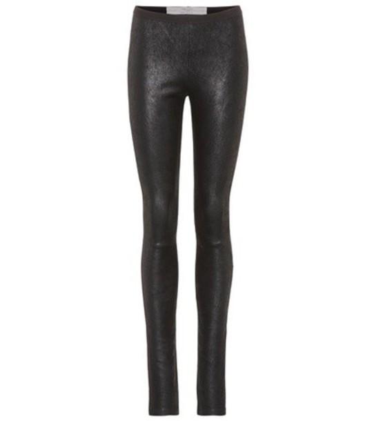 leggings leather leggings leather black pants