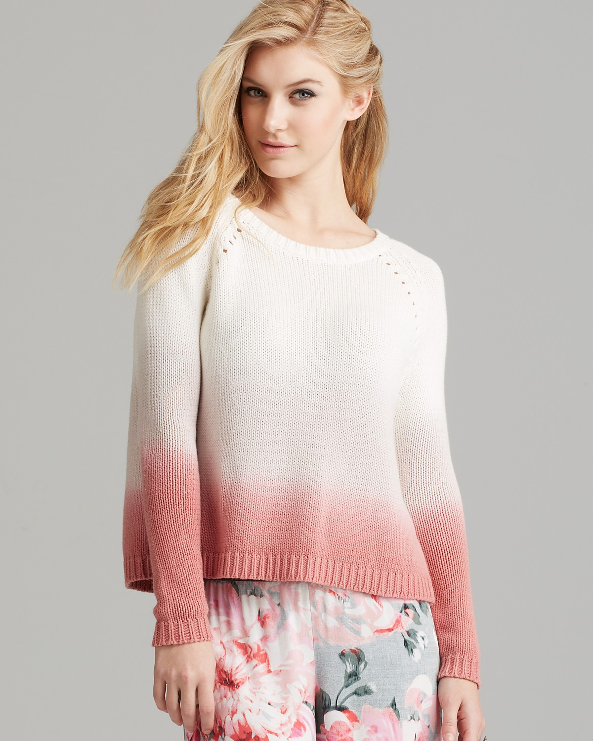 BB DAKOTA Sweater - Dip Dye | Bloomingdale's
