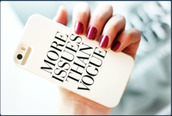 jewels,iphone,phone cover,vogue,white,iphone case,saying case,iphone 4 case vogue,iphone cover,iphone 4 case,white cover,romper,tumblr