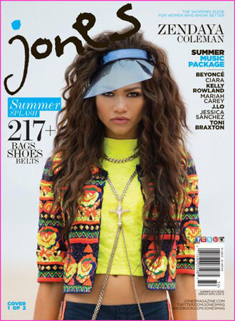 sweater zendaya jaune crop tops bijoux fluo shirt yellow zendaya jacket green orange yellow navy