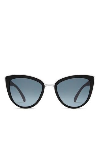 girl sunglasses black