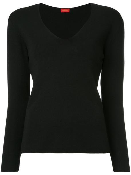 Des Pres jumper women black wool sweater
