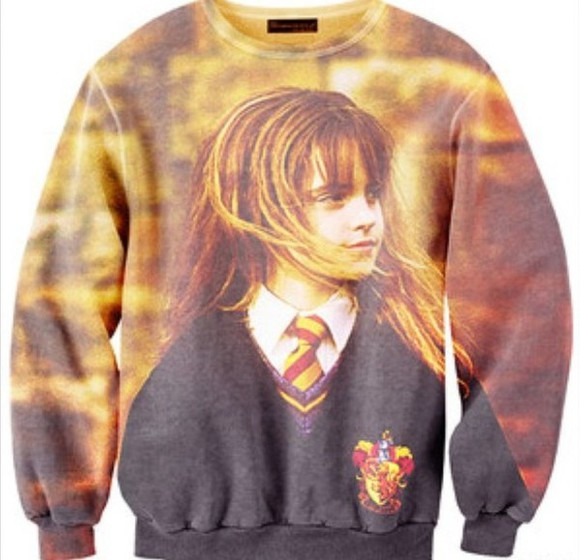 harry potter hermione granger sweater hogwarts