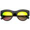 Ultra light beams matte revo mirror sunglasses | flyjane
