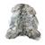 Arctic Sheepskin Pelt Rugs Undyed Super Long Icelandic Gray | Ultimate Sheepskin