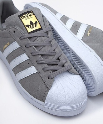 shoes adidas shoes adidas superstars grey sneakers