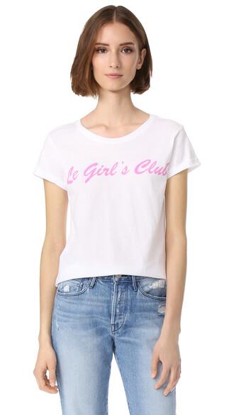 girl white top