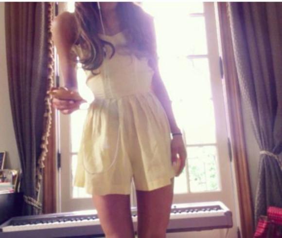 girly yellow rumper girlygirl ariana grande