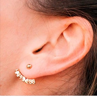 jewels earrings statement earrings gold earrings hoop earrings ear cuff ear piercings cross earring