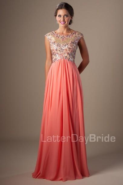 dress prom dress prom pink prom dress
