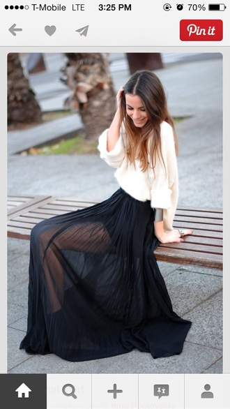 skirt maxi skirt sweater white fall outfits red lime sunday