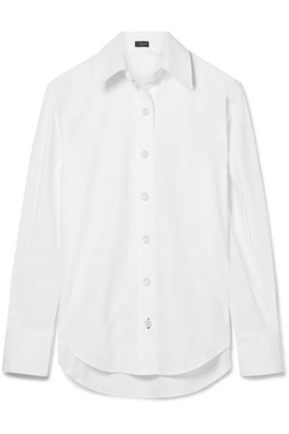 Joseph shirt white cotton top