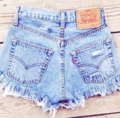 shorts,high waisted levi's shorts,high waisted denim shorts,buttons