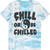 Chill Or Be Chilled Tee Black on Tie Dye – Killer Condo
