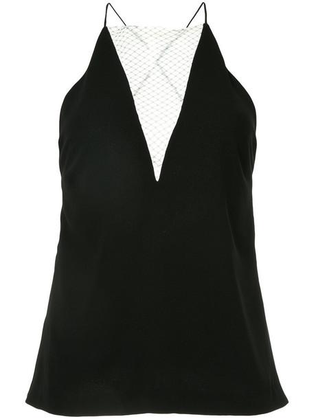 Dion Lee camisole women lace black underwear