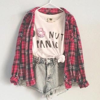 shirt tumblr weheartit donut