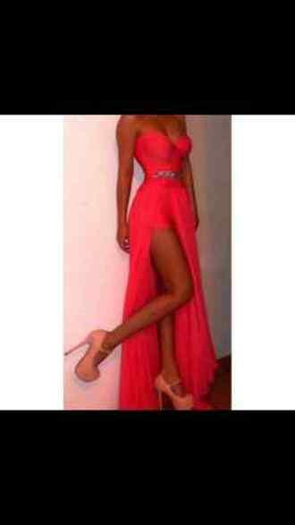 dress prom dress homecoming dress pink dress diamante dress prom dress