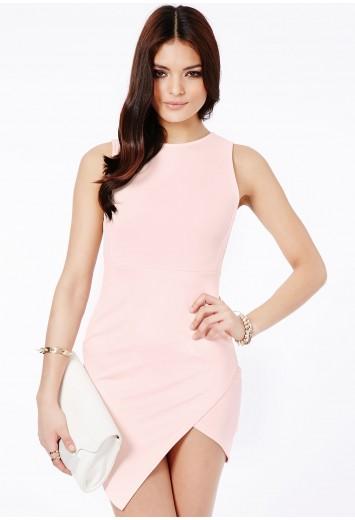 Kimberley asymmetric bodycon dress