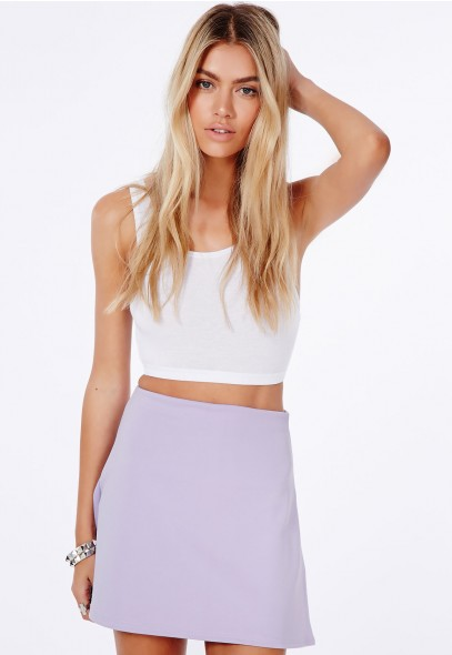 Lubiana A-Line Mini Skirt - Skirts - A-Line Skirts - Missguided