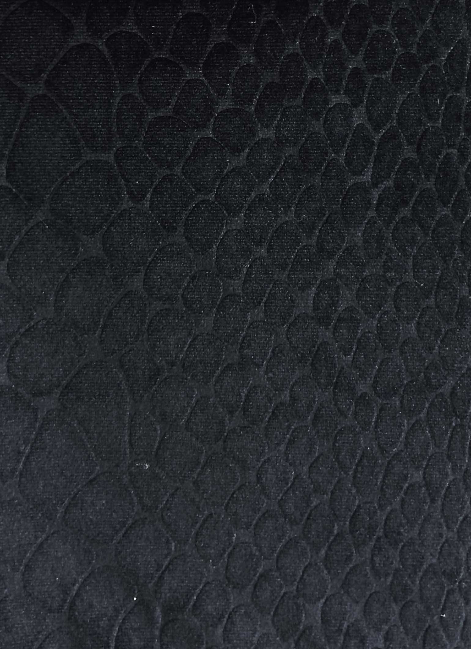 Black velvet snakeskin leggings